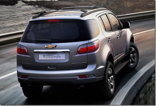 Chevrolet Trailblazer SUV Official Picture