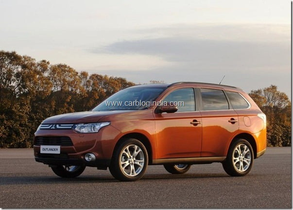 Mitsubishi Outlander 2013 New Model Official Picture (6)