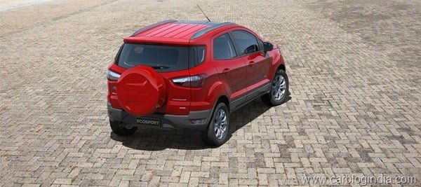 Ford EcoSport 2012 Production Version Official Pictures (7)