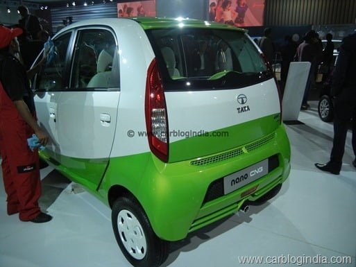 Tata Nano CNG Petrol Bi-Fuel Model India (2)