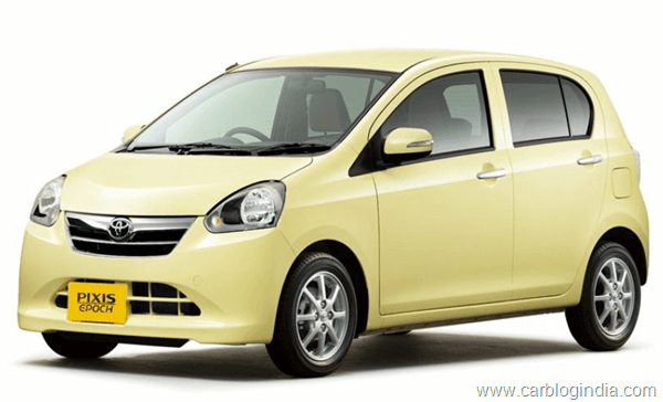 Toyota Pixis Small Car