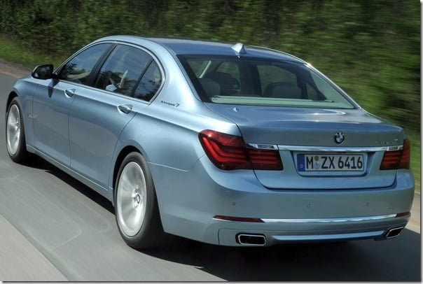 BMW 7 Series ActiveHybrid 2013-2