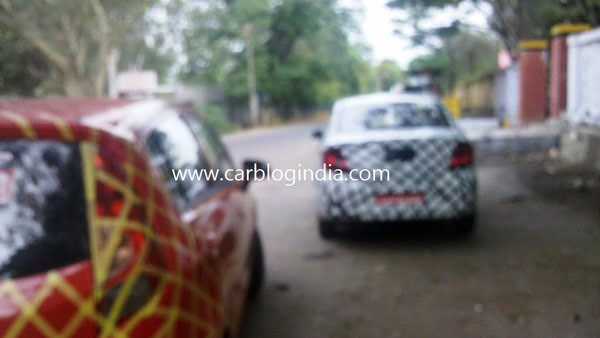 Chevrolet Sail Hatchback And Sedan Spy Pictures (4)