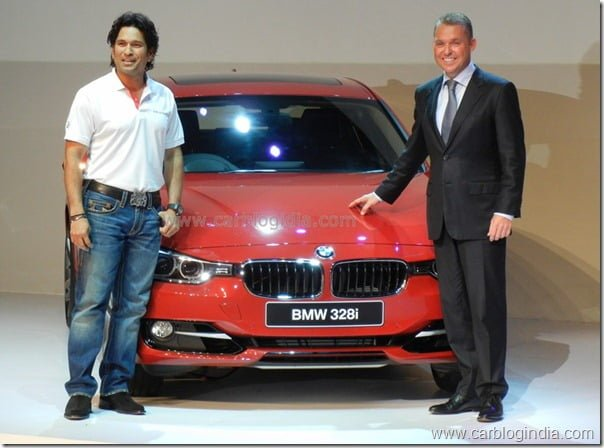 Sachin Tendulkar Launches New BMW 3 Series In India
