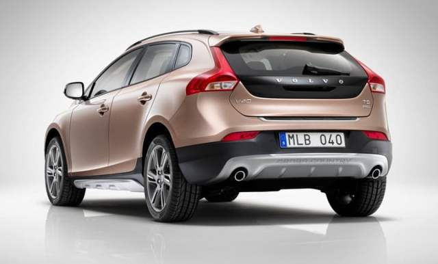 2012 Volvo V40 Cross Country hatchback rear studio