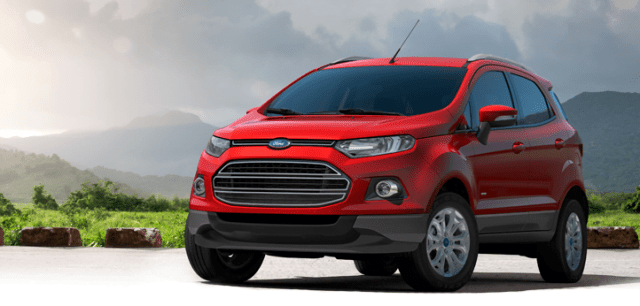 Ford EcoSport Launch In Middle-East