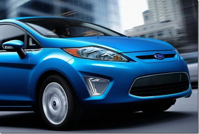 Ford Small Car Under Fiesta For China