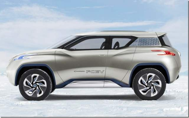 Nissan Terra Concept Side View