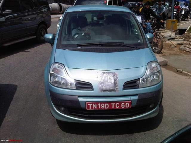 Renault Modus Spied In India (2)