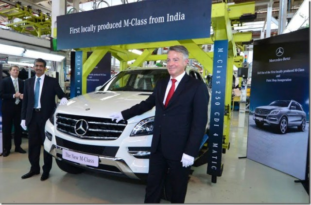 Mercedes M Class Local Production In India