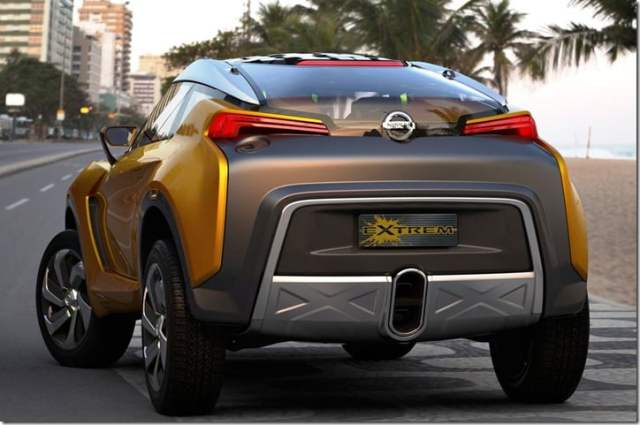 Nissan Extrem Concept Crossover Brazil rear 1