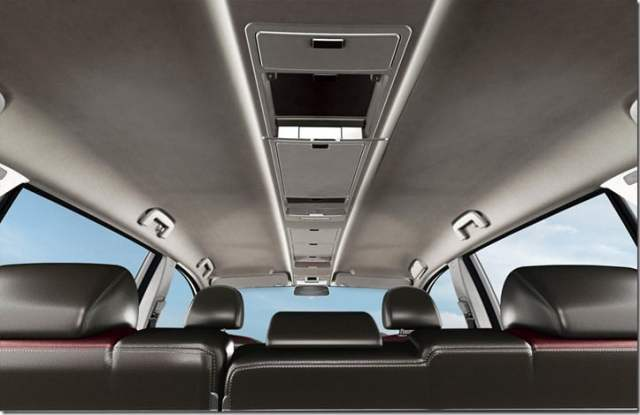 Tata Aria low cost model interiors.