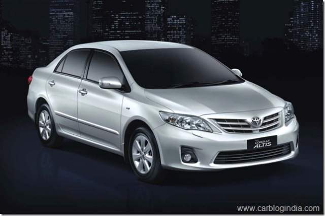 Toyota Corolla And Camry Recalled In India