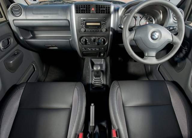 2013 Suzuki Jimny Updated Model UK interior