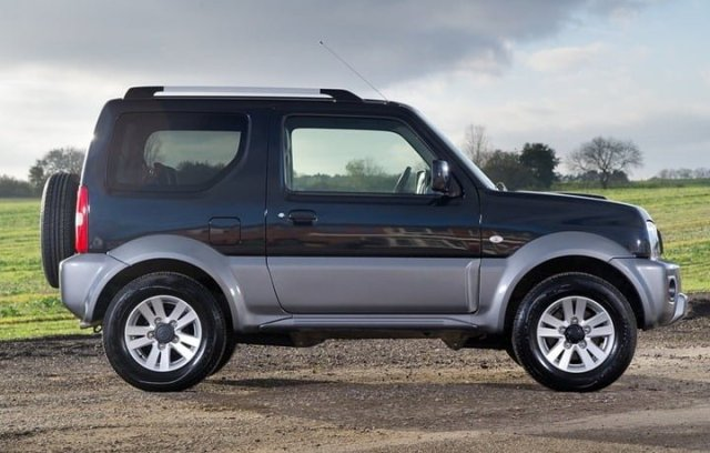 2013 Suzuki Jimny Updated Model UK side