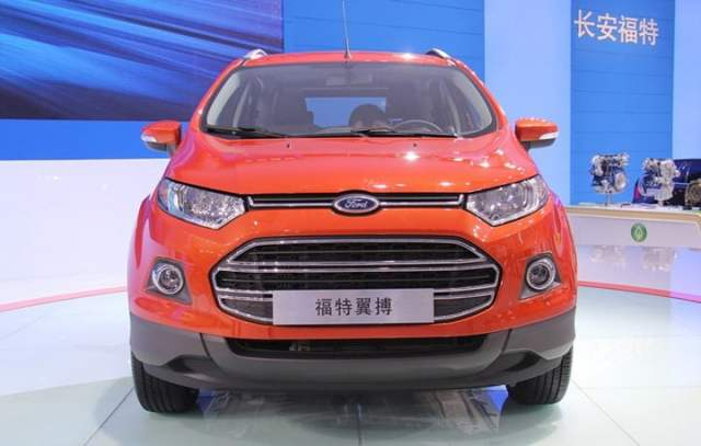 Ford EcoSport China With Long Wheelbase front