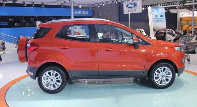 Ford EcoSport China With Long Wheelbase side