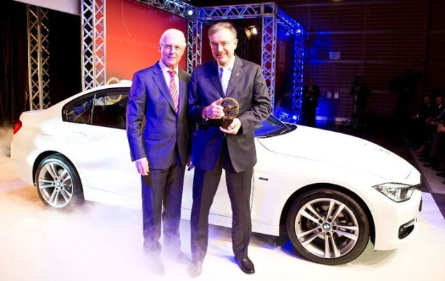 New BMW 3 Series Wins 2012 Golden Steering Wheel Award