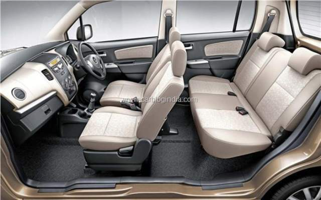 2013 Maruti Wagon R Interiors and Features