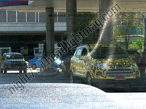 Ford EcoSport Testing In Thailand