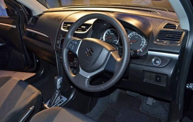 Suzuki Swift Interiors