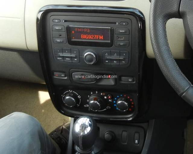 Renault Duster Without Touch Screen Multimedia And Navigation System