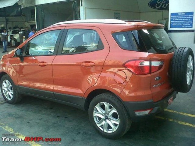 Ford EcoSport Lauch Vehicle In Mumbai