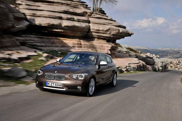 The BMW 125d