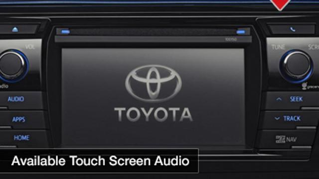 2014 Toyota Corolla Teaser Infotainment System