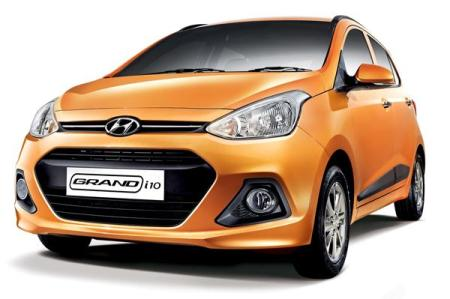 new hyundai compact suv india Hyundai Grand i10 Front Quarter Left