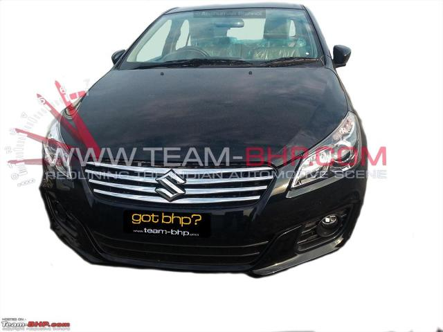 2014 Maruti SX4 YL1 Leaked Pictures