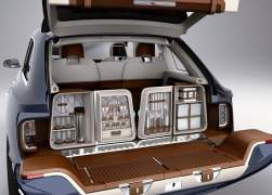 2012 Bentley EXP 9 F Concept Luggage Compartment