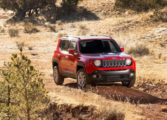 2015 Jeep Renegade Front Right Qaurter