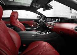 2015 Mercedes-Benz S-Class Coupe Interior Front Cabin Passenger Side View