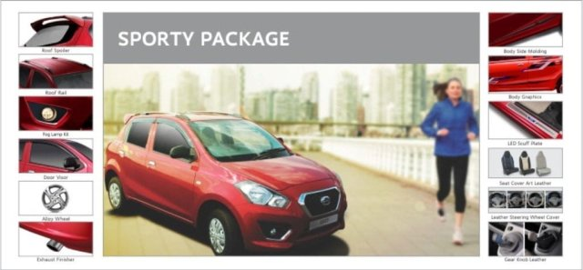 Datsun Go Accessories Package Sporty