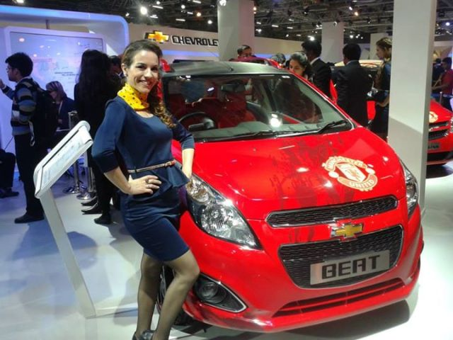 Chevrolet Beat Manchester United Special Edition Front Left