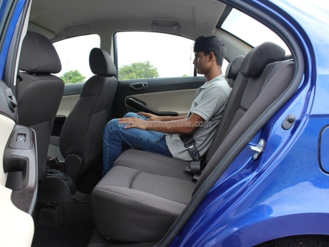 2014 Tata Zest Interior Rear Seat