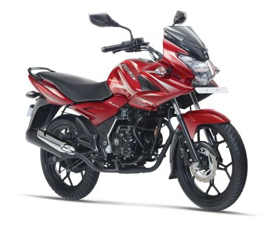 Best bike in India 2016 - Bajaj Discover 150F Front Right Quarter