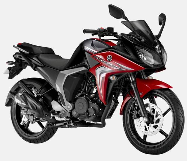 Best Bikes in India Under 1 lakh Price, Images, Specifications - 2014 Yamaha Fazer FI Version 2.0