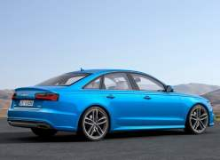2015 Audi A6 Sedan Rear Right Quarter