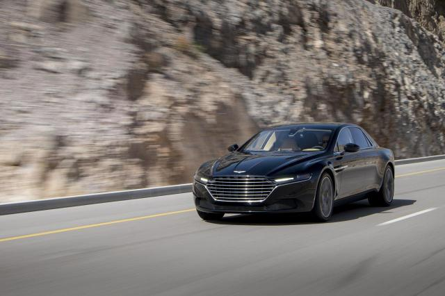 Aston Martin Lagonda Sedan Front Left Quarter Dynamic