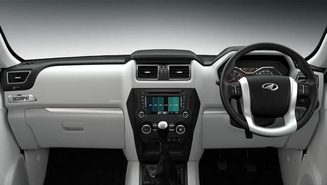 Mahindra Scorpio Facelift Interior Dashboard