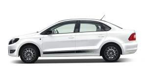 Skoda Rapid Facelift Left Side Profile