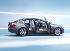 2016 Jaguar XE Right Side Doors Open
