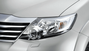 Fortuner New headlights