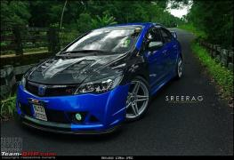 modified-honda-civic-in-kerela-blue-front-angle