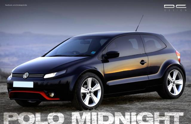 modified cars in india - DC Design Polo Side Angle