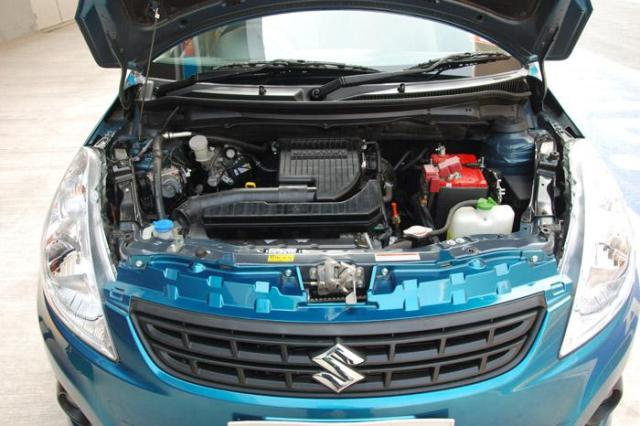 Swift Dzire engine bay