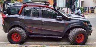 XUV500 INtrepid cover