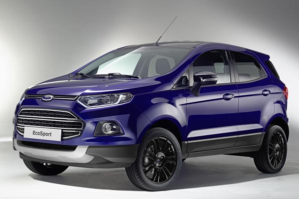 Ford EcoSport Europe Front